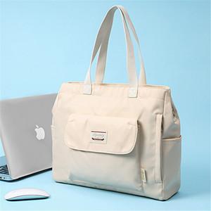 Women Laptop Handbag Waterproof Notebook Shoulder Messenger Bag For Macbook Air Pro 15 12 13 11 Retina Lenovo Computer Bag Girl