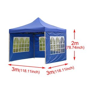 Portable Outdoor Tent Surface Replacement Rainproof Canopy Party Waterproof Gazebo Canopy Top Cover Garden Shade Shelter Windbar