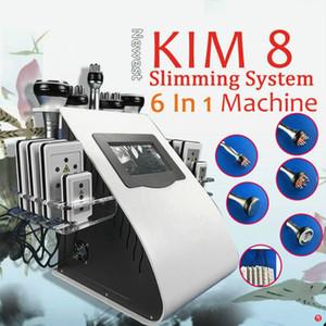 2020 Professional 6 в 1 кавитация для похудения машины тело лепить вакуумный RF целлюлитное средство для удаления кожи подъемное устройство красоты