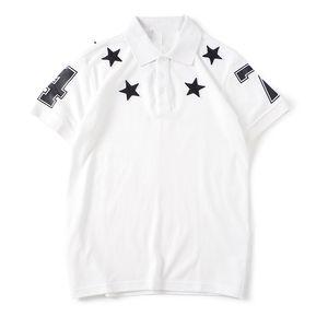 Neue Ankunft Herren T Shirts Mode Männer Frauen Hemden Stern Muster Druck Stylist Tees Größe S-XXL