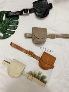 Ins waist bag women's new alligator belt decoration net red fashion versatile belt package All-match luxurys designers bags