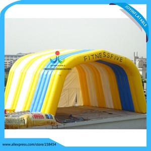 10x10x6m أو تخصيص pvc نفخ نفق / مكعب خيمة نفخ الخيام المرحلة للأحداث الكبيرة في الهواء الطلق Z1123