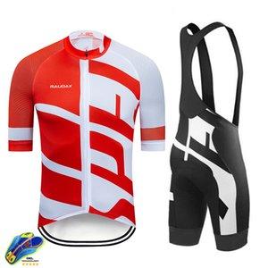 Raudax Vêtements de cyclisme 2020 Vélo pour hommes Vélo Vélo Ropa Ciclismo Hombre Ensembles MTB Maillot Vélo Vélo Vélo Triathlon C0123
