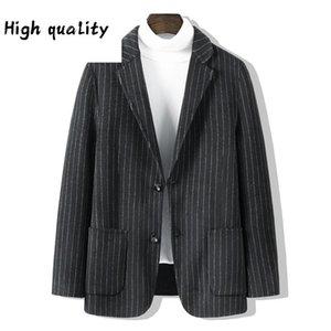 2020 di doppia faccia? Abito da tempo libero maschile Han Edition Cashmere Cappotto di lana cappotto di lana di lana di lana cloth corto paragrafo