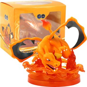 12cm Japan Anime Figure Toys Charizard Action Figure Model Collection Toys Gifts for Children Cool Present
