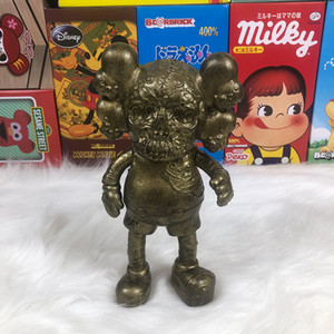 kaws OriginalFake Action Toy Figures 20cm pvc Mandkaws skull doll toy 2020 New design Hand made model of doll Collection decoration