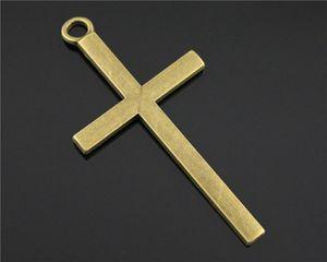 Charms Big Cross Bronze Farbe Große Kreuz Charms Anhänger Schmuck Ankh Kreuz Charms für Schmuck Machen Wmtjcw BDesybag