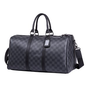 Hohe Qualität Gepäckgröße Tasche Männer Moderne Luxus Reisetasche Männer Leder Handtasche Große Umhängetasche Handtasche 44164 41418 s1