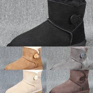 XIPA Snow Fashion Haute Qualité Hiver Nouveaux Hommes Brovover Bottes MirrorsNowToots Split Cuir Split Bottes chaudes Chaude Chaussures Chaussures en Peluche Peluche Chaussures de plein air Plus Siz