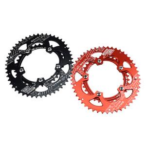 Ultra-léger en alliage de vélos de route Chainring ovale 35T 50T Racing Bike Chainring 110BCD chaîne de roue pédaliers Pour 9 10 11 Vitesse