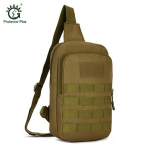 Sport Bag Camping Men Tactical Travel Hiking Shoulder Sling Running Wearable Anti-Tear 1000D Nylon Army Chest Bag