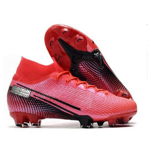 Double Box Herren FG Pro Soccer Cleats Korea Mbappe Rosa Schuhe Frauen Superfly Sancho Elite Outdoor Cr7 Mercurial Football Boots