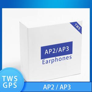 Air Gen 3 TWS Wireless headset Rename GPS Wireless Charging Bluetooth Headphones PK Pods 2 AP Pro AP2 AP3 W1 Chip Earbuds 2nd Generation