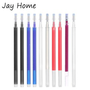 12Pcs Disappearing Ink Fabric Marker Pen Refills for Clothing Leather Marker Temporary Marking Heat Erasable Pen DIY Sewing Tool