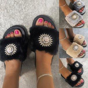 Calzado Mujer Schuhe Womans rutschfeste atmungsaktive Wohnungen offener Zehe Home Schuh Licht Casual Baumwolle Hausschuhe Frauen Pantuflas de Mujer