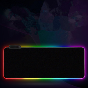 RGB LED سماكة ضوء الكمبيوتر 300 * 800 * 4 ملليمتر لعبة لوحة المفاتيح التنافسية سطح لوحة الماوس لوحة 5 الحجم dhl مجانا