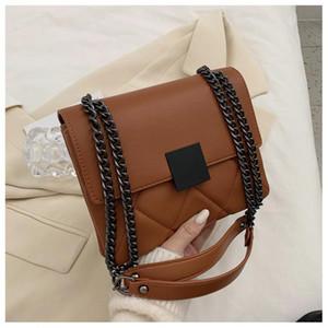 Sac pour femmes, marque PU, créateur de mode, sac à bandoulière pour femmes, sac à main de la fille, sac à main à la chaîne à la chevale, shopping, voyage