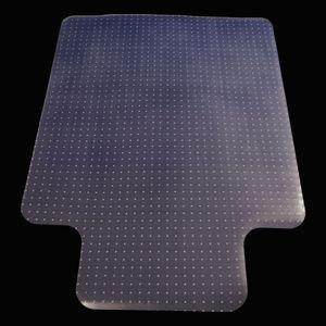 36 x 48inch CLEAR PVC Tapis Tapis de tapis de protection pour plancher pour plancher dur Tapis Protecteur de plancher Transparent Bureau Rolling Chair américain