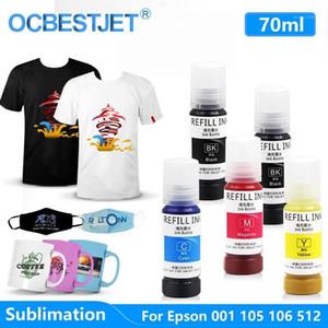 Encre de sublimation pour ET-7700 ET-7750 L6160 L7160 L7180 Imprimante Ecotank imprimante Sublimatin 20211 Recharge