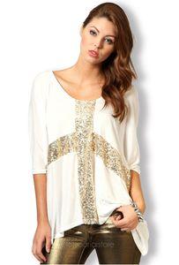 2015 Mujeres Casual Cross Legisly T Shirt Blusas Short Bat Strese Stretch Summer Plus Tamaño Tamaño Tops Tees Mujeres