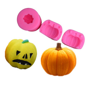 Halloween Pumpkin Modelling Baking Moulds Silicone Chocolates Mould Handmade Soap Molds For Home Kitchen Tools Heat Resistant 4 8dn E1