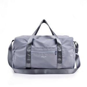 2020 Sports Gym Bag Fitness Training Handbag Girls Waterproof Yoga Shoulder Bag Combo Dry and Wet Travel Luggage Z1121