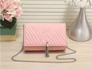 New Fashion Designer borse di lusso borsette di alta qualità sacchetto di lembo tramonto catena portafoglio donna catena a tracolla borse moda designer