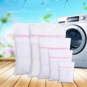 2 Pack Mesh Laundry Bag Delicates Laundry Bag Large Wash with New Honeycomb Mesh Ligerie Net Bags for Washing