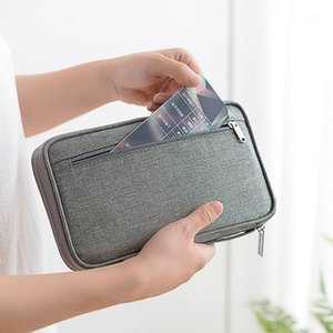 Saklama torbaları pasaport organizatör su geçirmez katyon seyahat kapak tutucu belge çantası ev aksesuarları stuff1