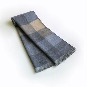 30cm * 180cm Vintage Plaid Winter Scarf for Men Fashion Cashmere Soft Male Bufandas Hombre Shawls Warp