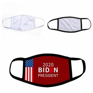 Em branco de sublimação Máscara Facial Máscara Adulto Crianças com filtro de bolso pode colocar PM2.5 filtro almofada de calor Máscaras Transferência Designer CCA12630