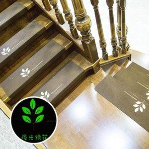 STAIR Нескользящий светлый коврик 55 * 22см Ковер Лестница Лестница Самоклеящийся пол ковер Polyester Hotel