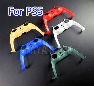 소니 PS5 프론트 중간 컨트롤러 교체 장식 쉘에 대한 게임 패드 커버 Sony PlayStation5 Joypad Games 액세서리