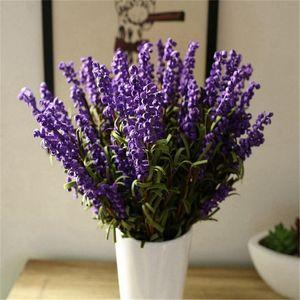 Rural Household Adorn Article Lavender Emulates Sitting Room Spends Artificial Flower Suit Manual Flower Freehand Brushwork Dry Flower