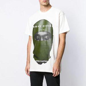Ih Nom Uh Nit Masked Photo 20SS Printed Men Women Couples Casual Short Sleeves High Street Fashion T-Shirt Sum