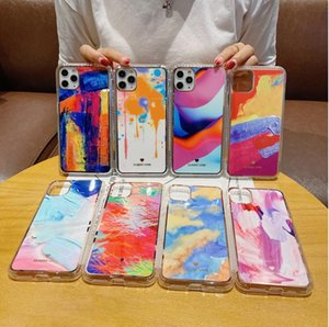 fashion rainbow Marble Case For Iphone 12 2020 Iphone12 5.4 6.1 6.7