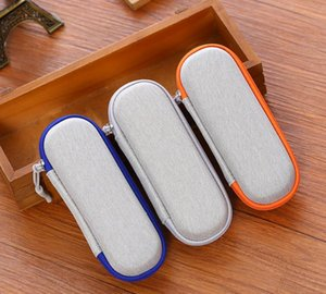 Mini EVA Zipper Bag Portable Protect Case Shell Protection Casing For Smoking Pipe Glass Bong Tool Herb Accessories SN4907