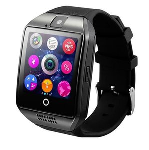 Q18 Bluetooth Smart Watch Phone with 0.3M Camera MTK6261D Smartwatch for android phone Micro Sim TF card Men Women Watch
