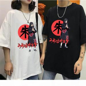 Naruto Uchiha Itachi T-Shirt Streetwear Summer Tops Tees Cotton Tshirt Oversized HipHop