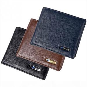 Men Smart Wallet Genuine Leather Anti theft GPS Locator Wallet Anti Lost Intelligent Bluetooth Purse Male Tracker