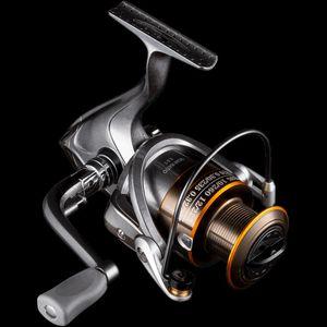 ZUKIBO Non-Gap Spinning Reel Full Metal Wire Cup 5.5:1 Fishing Reel 7KG Max Drag Aluminium Handle Saltwater Fishing Accessory Z1128