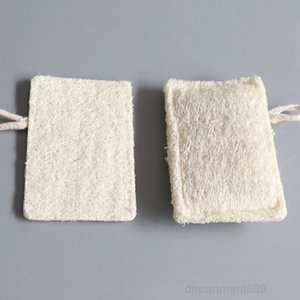 A-11*7CM Natural Loofah Pad Rectangle Shaped Exfoliating Luffa Remove the Dead Skin Perfect For Bath Shower And Spa Free DHL OWF2647