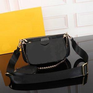 Three-in-one fashion luxury designer women bag waterproof leather shoulder bag ladies handbag men and women bag free shipping 44823 53936