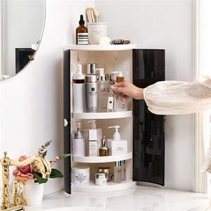 Moda Nova Prateleira Grande Capacidade Saving Space Storage Rack Shampoo Cosmético Organizador Suporte Casa Banheiro Acessórios Z1123