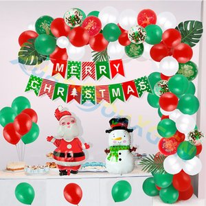 100pcs lot Christmas decoration Solid color balloon 10 inches Party Decoration Kids Adult Balloon Helium Ball party Decor props