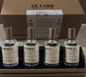 Dropshipping Perfume for women men Gift Le Labo Another 13 Santal 33 BERAMOTE 22 THE NOIR 29 ROSE31 4pcs*30ml fragrance set free shipping