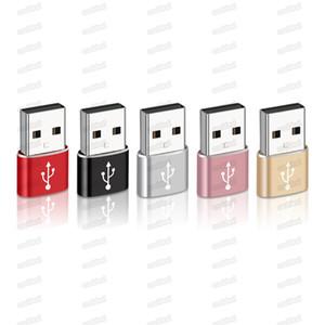 Großhandel USB 3.0 Typ-C-Stecker-Stecker an Micro-USB-weibliche Datenadapter-Konverter-Anschluss-Typ C-Adapter für Anmerkung 7 MacBook-freies DHL