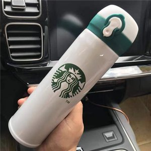 Stainless Bottle Starbucks Thermal 450ml Starbucks Free Capacity Top Insulation High Styles 5 Steel Cup Quality Cup Water Glass xhlight AOW