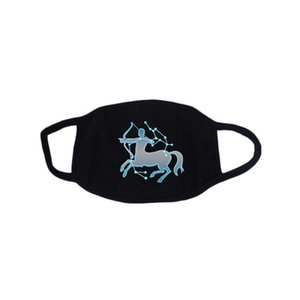 Constellation Fluorescent Mask Fashion Face Mask Cotton Reusable Face Masks Out Porta Sport Maschere da equitazione Designer Faccia Maschera DDA2843