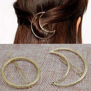 Elegant Donne Coreano Simple DesignMinalist Dainty Gold Gold Silver Hollow Triangle Geometrico Metallo Hairpin Hairpin clip 20pcs Regalo di Natale